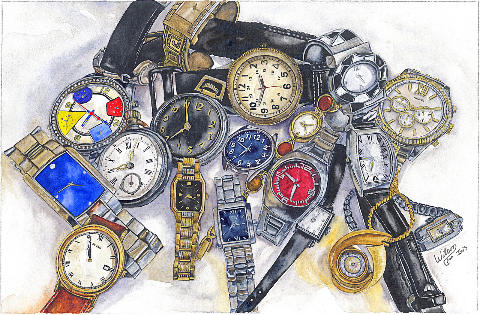 Carole Wilson Watercolors